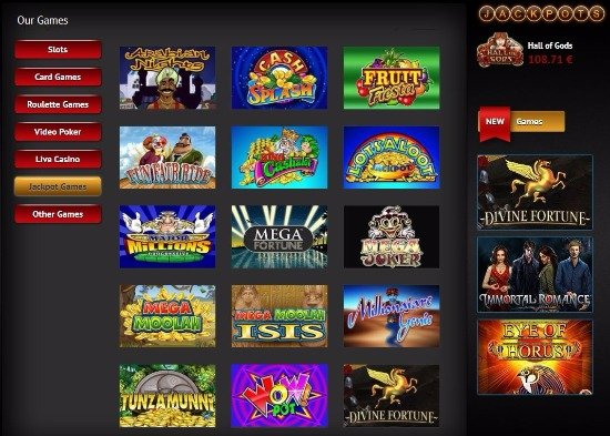 redkings casino online jackpot games