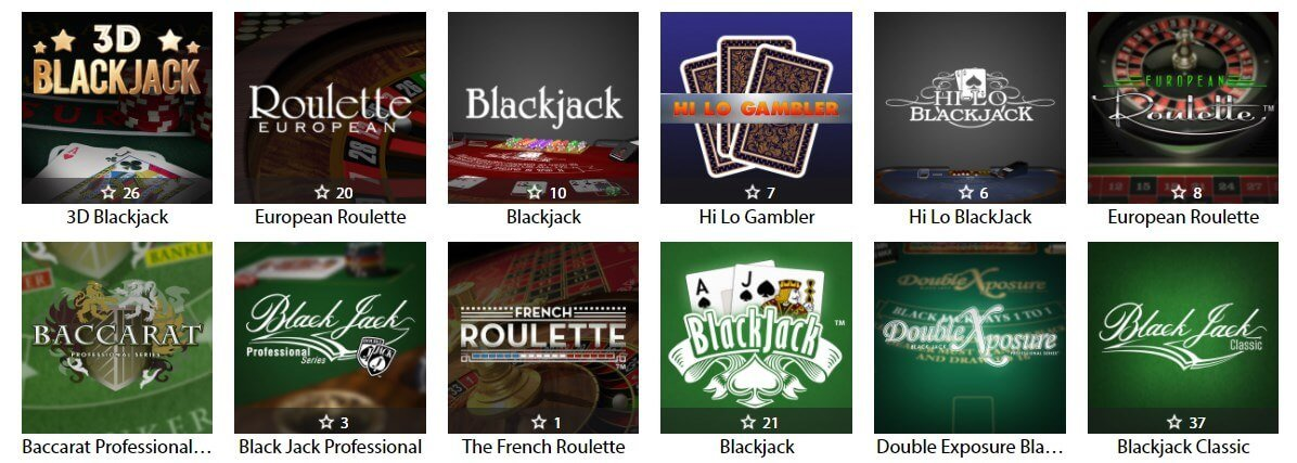 redbet casino blackjack games