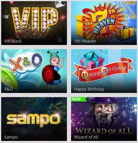 Magic Red online casino - Scratch Cards