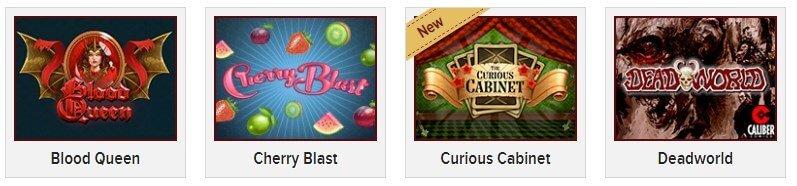 Red Queen Casino games