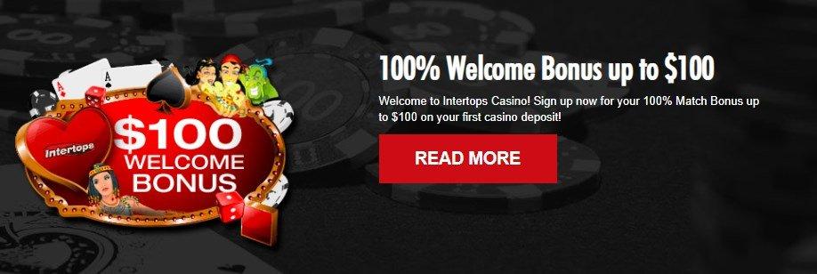 intertops casino welcome bonus