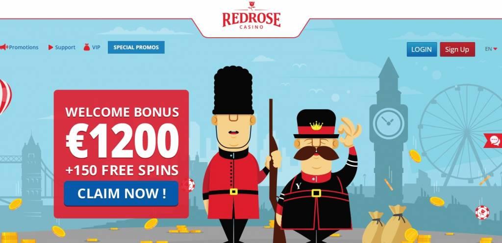 red rose casino bonus