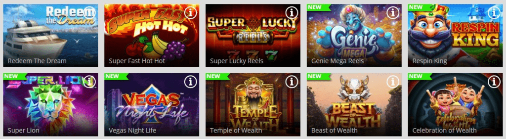 magic red jackpot games