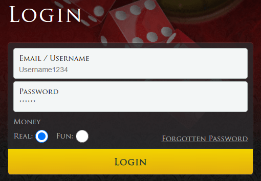 lucky red casino login